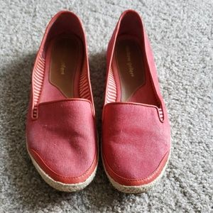 Womens Denim Slip-ons